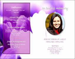 Free Funeral Program Templates Download 24 Download Free Funeral Program Template SampleTemplatess 13