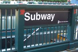 Image result for nyc subway entrance sign