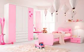 Dormitorio Para Niñas En Rosa Y Blanco