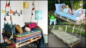 pallet swing bed diy pallet swing bed