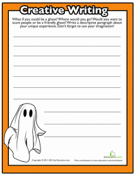 th grade halloween writing prompt worksheets com halloween writing prompts 4