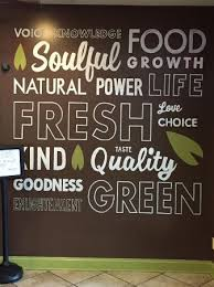 nuvegan cafe wall art on wall art pictures of food with wall art picture of nuvegan cafe college park tripadvisor