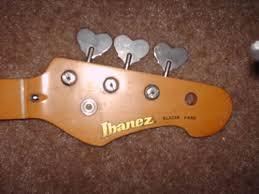 ibanez collectors world ibanez blazer bass neck