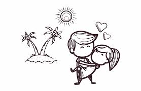 Cute Couple Png Love Romantic Cute Cartoon Couple Png Download Cute