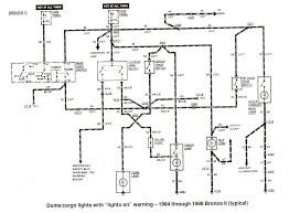 ford ranger bronco ii electrical diagrams at the ranger station dome cargo lights 1984 1988 bronco ii