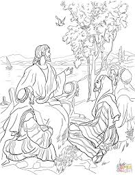 Parables Of Jesus Coloring Pages Coloring Pages Of Parables Of