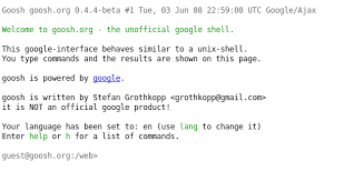 Linux By Examplesgoogle Search In Command Line Linux By Examples