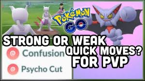 Weak Or Strong Quick Moves In Pvp Pokemon Go Gliscor