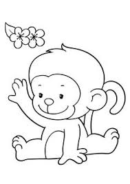 Small Picture Monkey Gone Bananas Coloring Page Printables for Kids free
