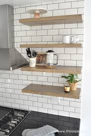 want the modern farm house look of large floating shelves but can t afford them