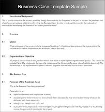 Free Case Template Writing Business Cases Template Business Case Template Free Word