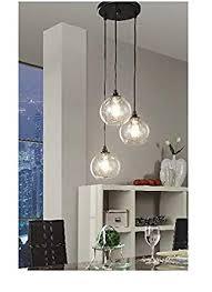 uptown 3light glass modern clear globe cluster pendant 3 light cluster pendant g19