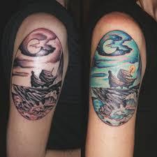 волшебные татуировки в стиле гарри поттера Qilru