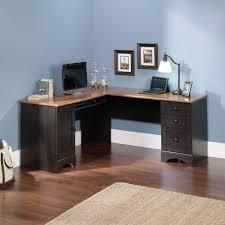 office corner workstation. sauder harbor view corner computer desk antiqued white finish walmartcom office workstation