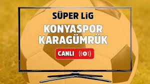 Canlı izle Konyaspor Karagümrük Bein Sports 2 şifresiz canlı maç izle, Konyaspor  Karagümrük maçı hangi kanalda yayınlanacak? 2 Mayıs 2021 - Tv100 Spor