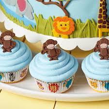 Gray Monkey Business Cupcakes Monkeys Decorating Ideas Wilton To