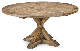 marvelous reclaimed wood round dining table dining room the wood round dining table new reclaimed wood