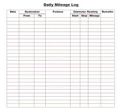 Free Printable Mileage Log For Taxes Printable Mileage Log Template Irs Compliant App