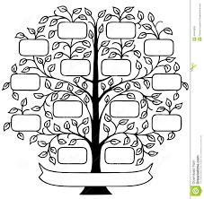 famiy tree family tree eps stock vector illustration of chart parents 43443826
