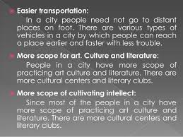city life advantage and disadvantages 4