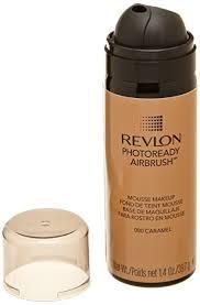 revlon photoready airbrush mousse makeup caramel 1 4 ounce