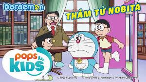 S6] Doraemon Tập 292 - Trò Chơi người Thật Của Tương Lai, Thám Tử Nobita -  Hoạt Hình Tiếng Việt | Comic book cover, Animation, Comic books