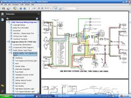 1966 colorized wiring diagrams cd screenshot of 1966 colorized mustang wiring diagrams