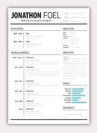 Good Resumes Templates Cool Fun Resume Templates 48 Best R Sum Aesthetics Images On