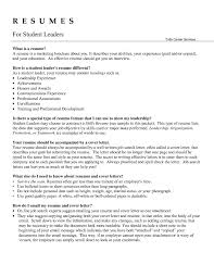 leadership on a resume best resume samples images  qualities of a leader essay essay on diversity aquatic manager