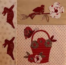 12 best le jardin bunny hill images on Pinterest   Applique ... & Block-4 Le Jardin Adamdwight.com