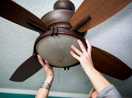 how to replace a light fixture with a ceiling fan how tos diy rh diynetwork com replacing ceiling fan with light fixture blue wire replacing ceiling fan