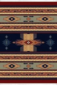 interior design for native american area rugs in southwestern navy blue american carpet rustic lodge striped