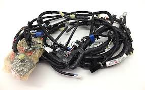 kubota kx series excavator wiring harness 3 loom rc30153330 kubota u series excavator main wiring harness loom ra22853315