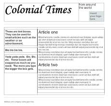 Newspaper Google Docs Template Newspaper Template Google Docs For Ad Doc E Interestor Co