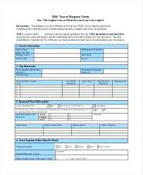 Travel Request Form Unique Travel Authorization Form Template Request Templates Gocreatorco