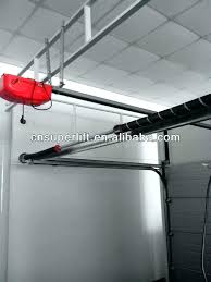 low headroom garage door automatic sectional doors with remote control opener genie clearance zero sears gara