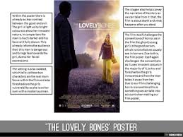 horror film poster s analysis  the lovely bones poster <br>