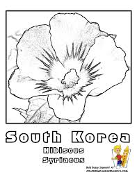 Small Picture South Korean Coloring Pages