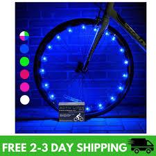 Best Burning Man Bike Lights Activ Life Wheel Bike Lights 1 Tire Blue Best Burning