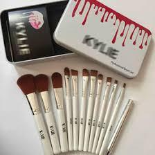 2019 hot kylie makeup brush foundation powder blush mac makeup brushes high quality 3 make up tools 12pcs set