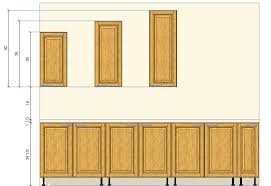 Small Picture Installation Height Of Kitchen Wall Cabinets Wall Cabinet