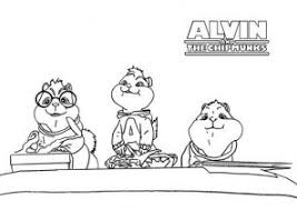 Small Picture Alvin and the Chipmunks Coloring Pages Coloring4Freecom