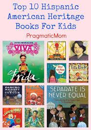 top 10 hispanic american herie books for kids