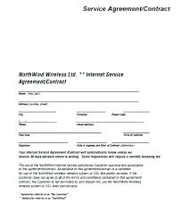 Basic Service Contract Template Teik Me