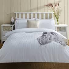 seersucker white bedding set