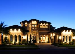 luxury home lighting. Christopher Burton Luxury Homes Mediterranean-exterior Home Lighting E