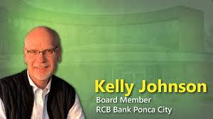 Kelly Johnson Joins RCB Bank Ponca City Board of Directors   RCB Bank