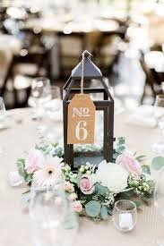 wedding decorations for tables. Pink And White Rustic Chic Centerpiece Table Number. Wedding Decorations For Tables S