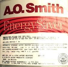 ao smith proline water heater commercial grade 50 gallon atmospheric smith water heater gallon heaters electric ao proline manual serial