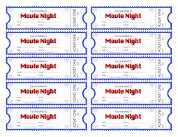 030 Movie Ticket Invitation Template Free Printable Ideas